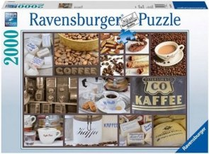 Puzzle 2000 Ravensburger 166114 Przerwa na Kawę