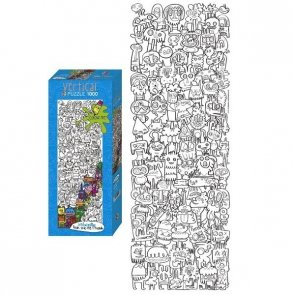 Puzzle 1000 Heye 29520 Colour Me!