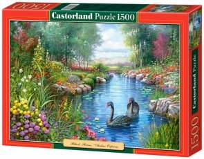 Puzzle 1500 Castorland C-151042 Black Swans - Andres Orpinas