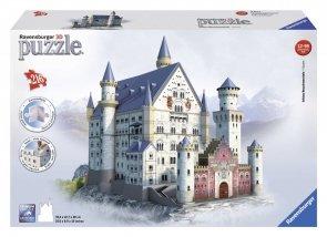 Puzzle 3D 216 Ravensburger 125739 Zamek Neuschwanstein - Niemcy
