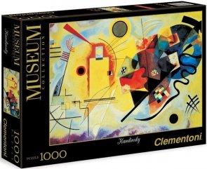 Puzzle 1000 Clementoni 39195 Kandinsky - Żółty