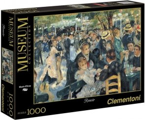 Puzzle 1000 Clementoni 31412 Renoir - Bal w Moulin