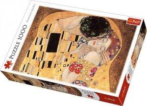 Puzzle 1000 Trefl 10464 Klimt - Pocałunek
