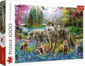 Puzzle 1000 Trefl 10558 Rodzina Wilków