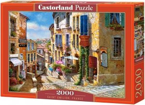 Puzzle 2000 Castorland C-200740 Francja - Saint Emilion