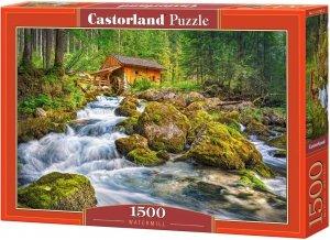 Puzzle 1500 Castorland C-151783 Młyn Wodny