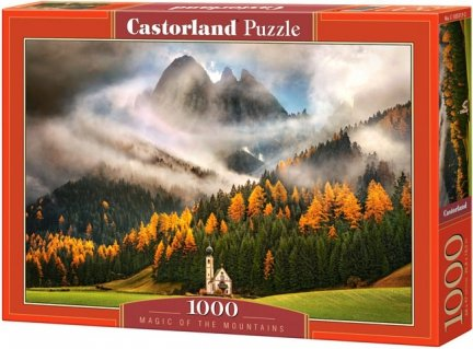 Puzzle 1000 Castorland C-103270 Kościółek - Magic of the Mountains