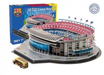 Puzzle 3D Trefl M-34002 Model Stadionu Camp Nou - FC Barcelona 109 el.