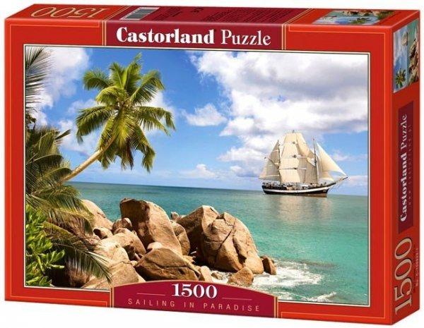 Puzzle 1500 Castorland C-150526 Sailing in Paradise