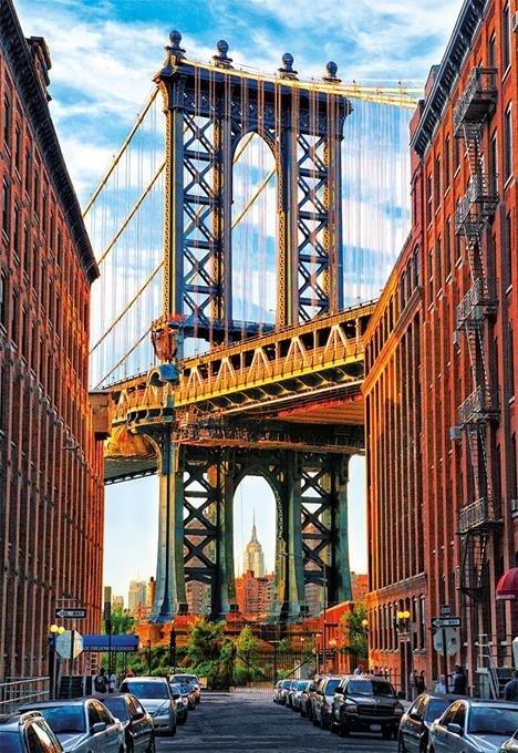 Puzzle 1000 Educa 17100 Most na Manhattanie - New York