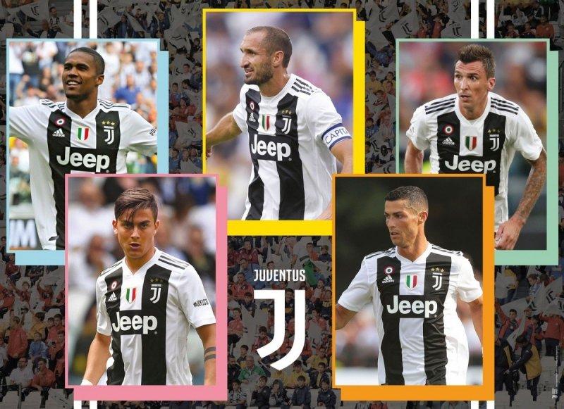 Puzzle 1000 Clementoni 39476 Juventus 3