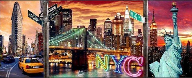 Puzzle 1000 Ravensburger 199952 Nowy Jork - Tryptyk