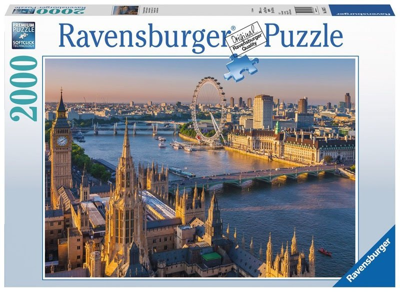 Puzzle 2000 Ravensburger 166275 Londyn