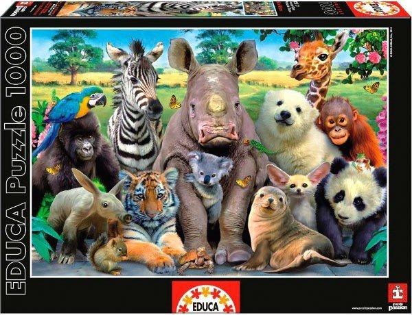 Puzzle 1000 Educa 15517 Zdjęcie Klasowe