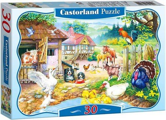 Puzzle 30 Castorland B-03310 Farma
