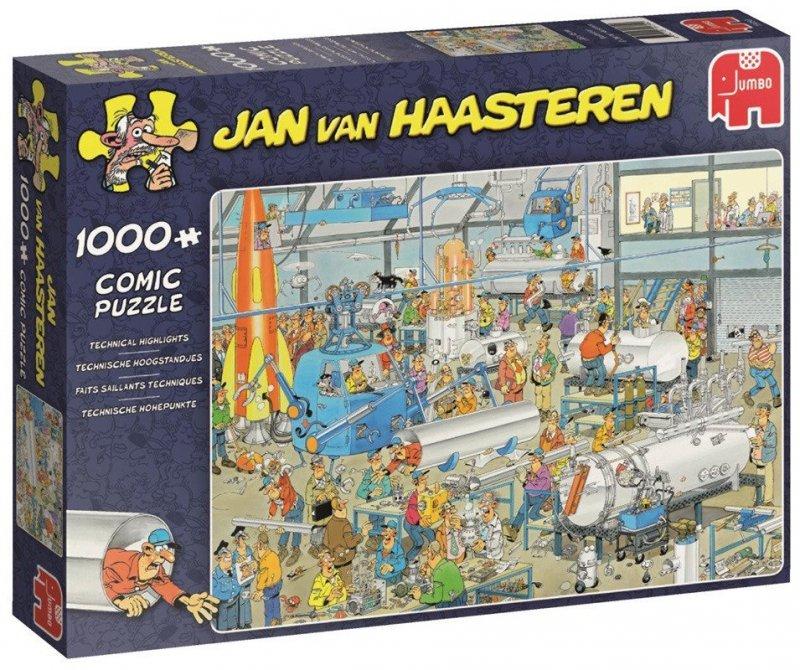 Puzzle 1000 Jumbo 19050 Jan van Haasteren - Techniczne Rozmaitości