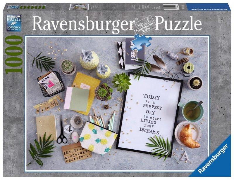 Puzzle 1000 Ravensburger 198290 Żyj Marzeniami