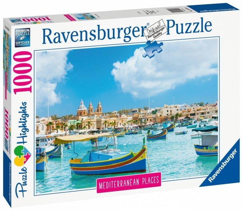 Puzzle 1000 Ravensburger 149780 Śródziemnomorska Malta