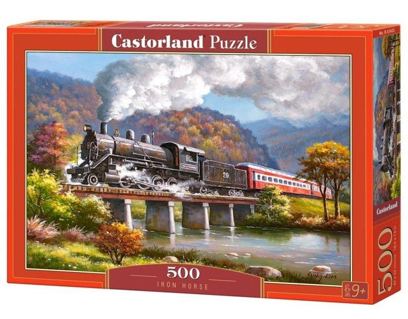 Puzzle 500 Castorland B-53452 Lokomotywa
