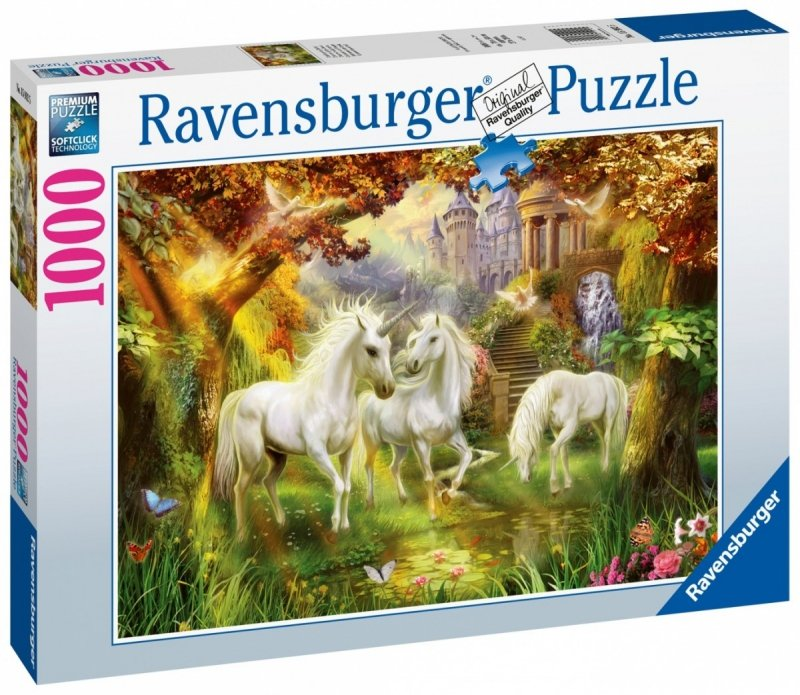 Puzzle 1000 Ravensburger 159925 Jednorożce