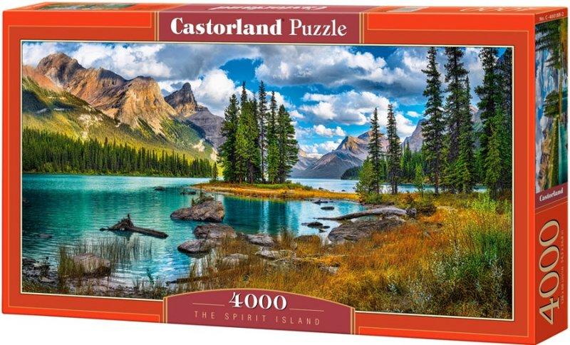 Puzzle 4000 Castorland C-400188 The Spirit Island