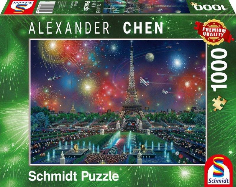 Schmidt 59651 Alexander Chen - Fajerwerki nad Wieżą Eiffla