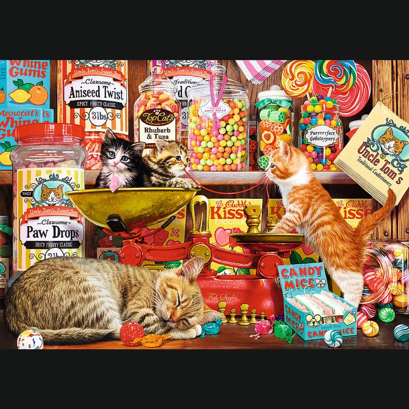 Puzzle 1000 Trefl 10630 Sklep dla Kotów