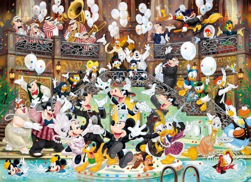 Puzzle 1000 Clementoni 39472 Mickey 90 Lat Magii