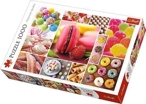 Puzzle 1000 Trefl 10469 Cukierki - Kolaż