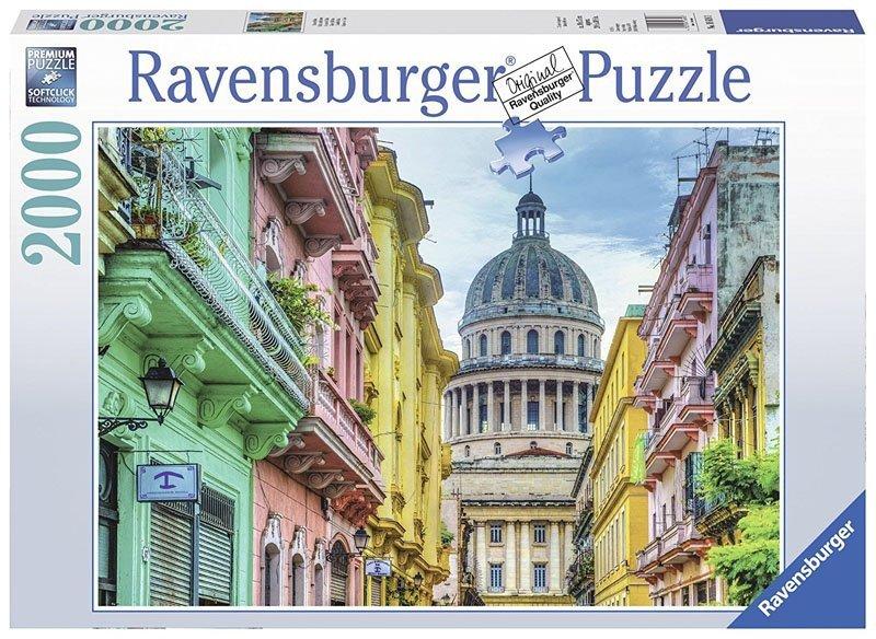 Puzzle 2000 Ravensburger 166183 Kolorowa Kuba