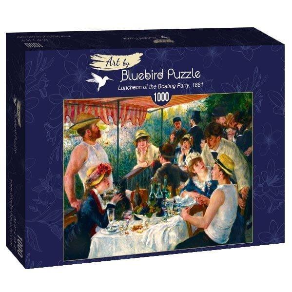 Puzzle 1000 Bluebird 60048 Auguste Renoir - Śniadanie Wioślarzy - 1881