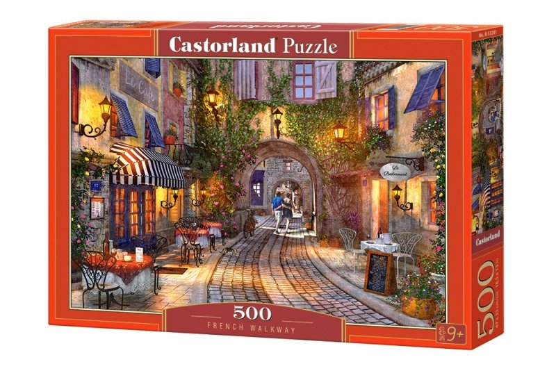 Puzzle 500 Castorland B-53261 Francuski Chodnik