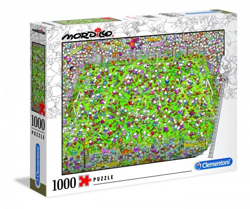 Puzzle 1000 Clementoni 39537 Mordillo The Match