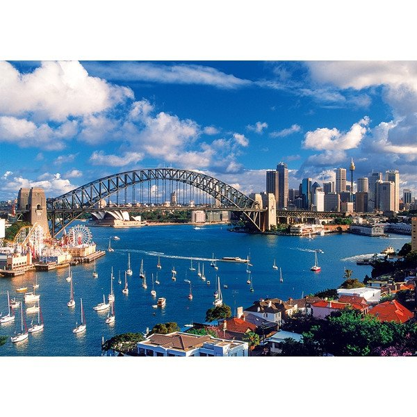 Puzzle 1000 Trefl 10206 Port Jackson, Sydney