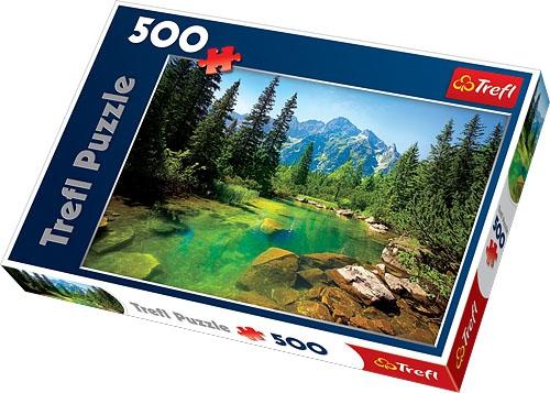 Puzzle 500 Trefl 37117 Widok na Tatry