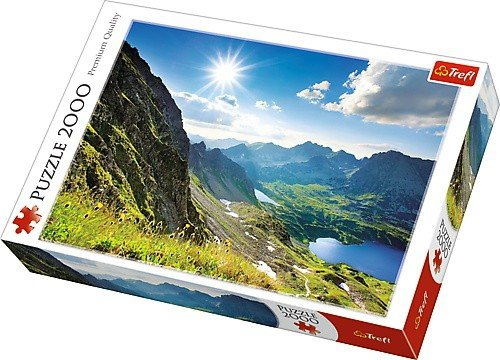 Puzzle 2000 Trefl 27047 Dolina Pieciu Stawów - Tatry