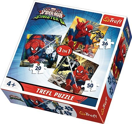 Puzzle 3w1 Trefl T-34822 Spider-Man