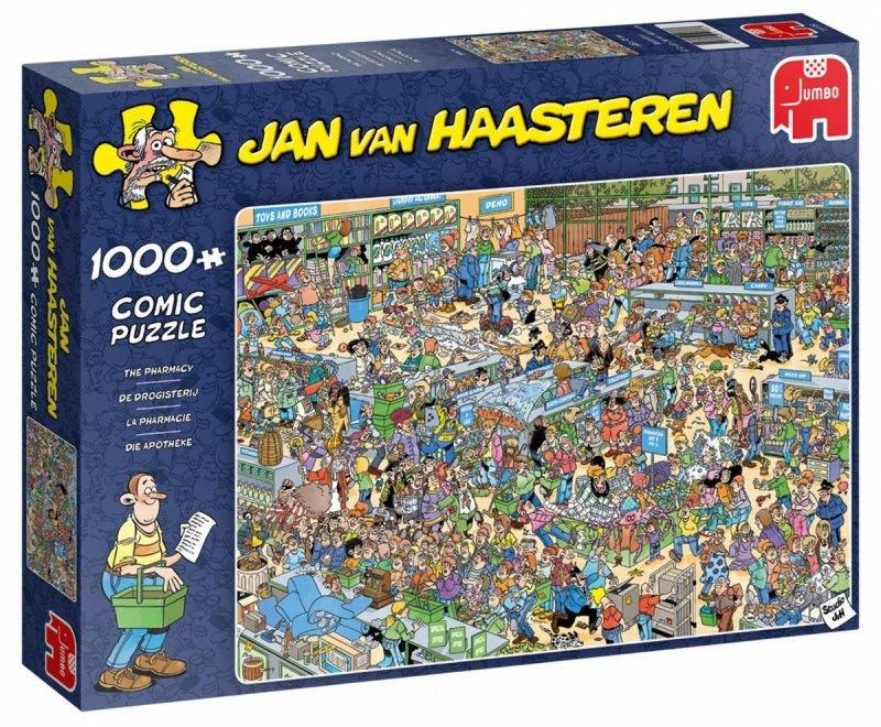 Puzzle 1000 Jumbo 19199 Jan Van Haasteren - Drogeria