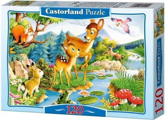 Puzzle 120 Castorland B-12725 Jelonek - Little Deer