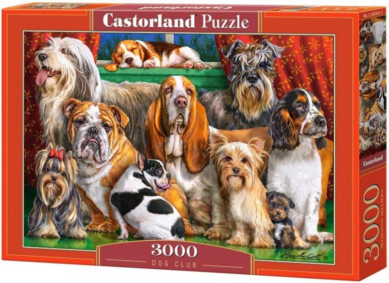 Puzzle 3000 Castorland C-300501 Portret Psów