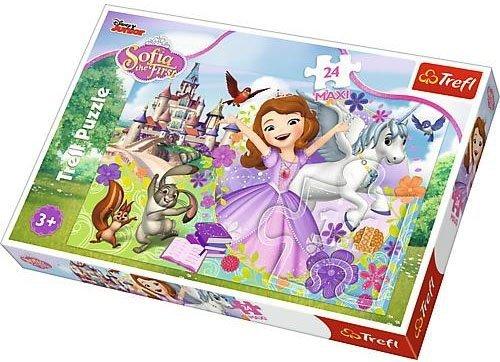 Puzzle 24 Maxi Trefl 14270 Zosia - Kolorowy Świat