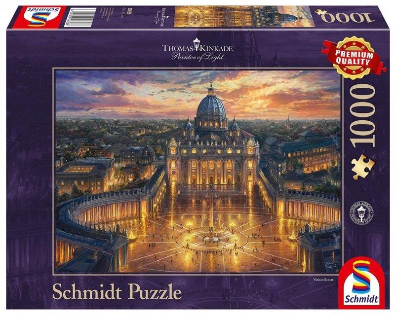 Puzzle 1000 Schmidt 59628 Thomas Kinkade - Watykan