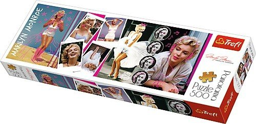 Puzzle 500 Trefl 29509 Panorama - Marilyn Monroe - Kolaż