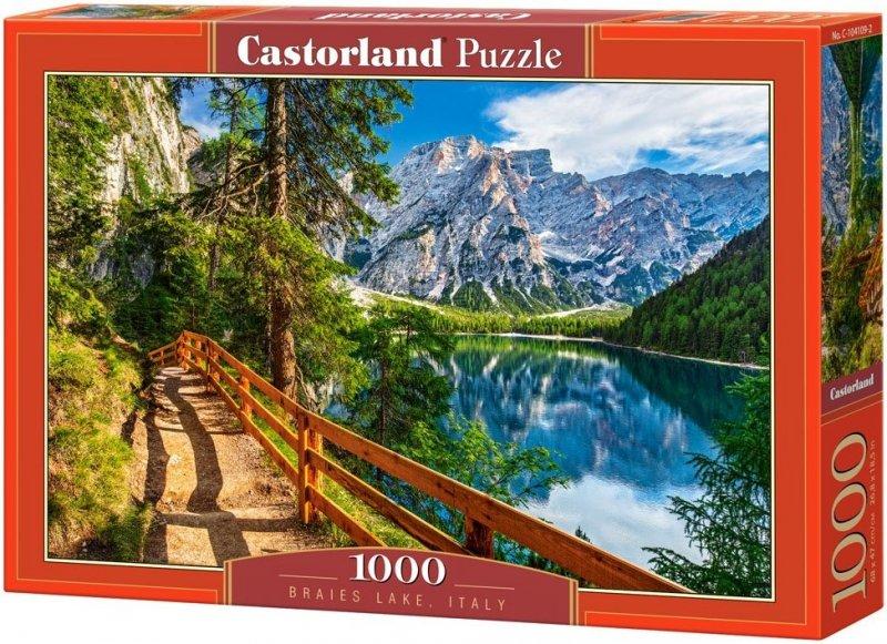 Puzzle 1000 Castorland 104109 Jezioro Braies - Włochy
