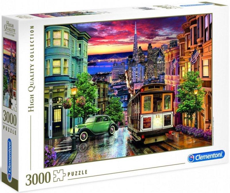Puzzle 3000 Clementoni 33547 San Francisco