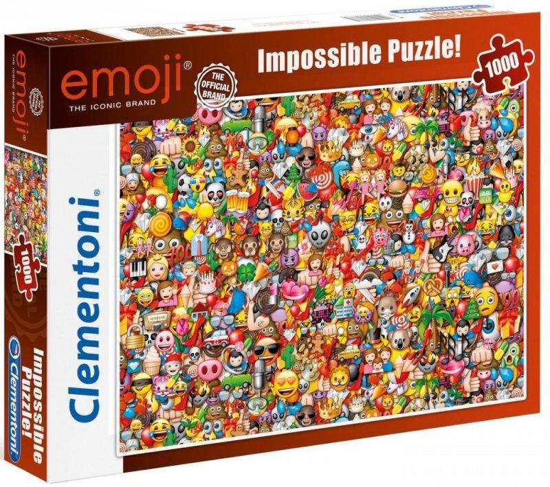 Puzzle 1000 Clementoni 39388 Emoji