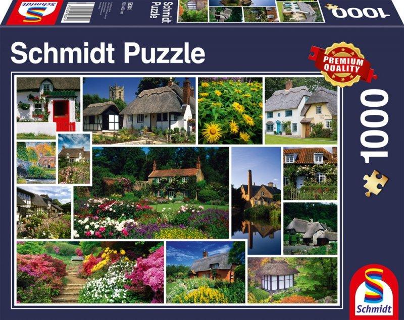 Puzzle 1000 Schmidt 58341 Anglia - Kolaż