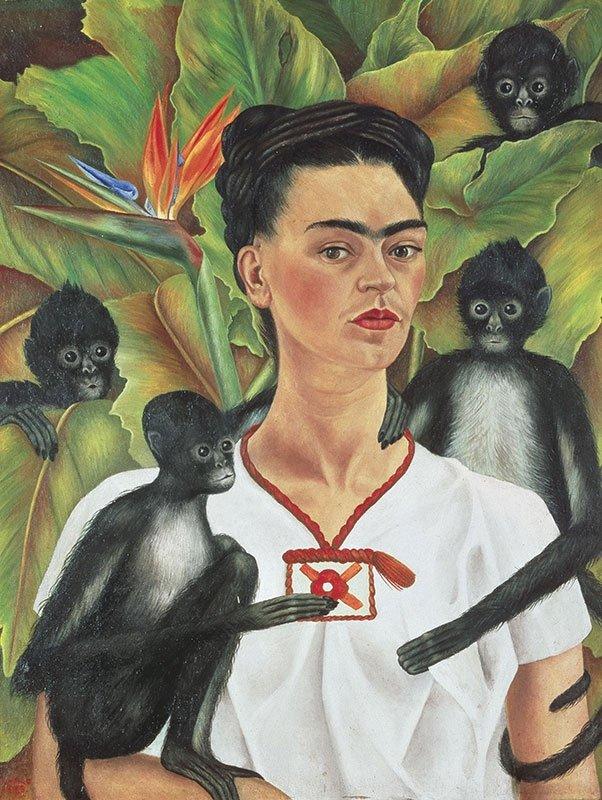 Puzzle 1000 Piatnik  P-5509 Frida Kahlo - Autoportret