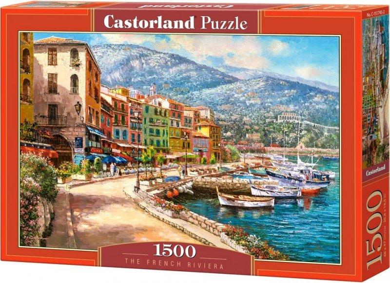 Puzzle 1500 Castorland C-151745 Riwiera Francuska