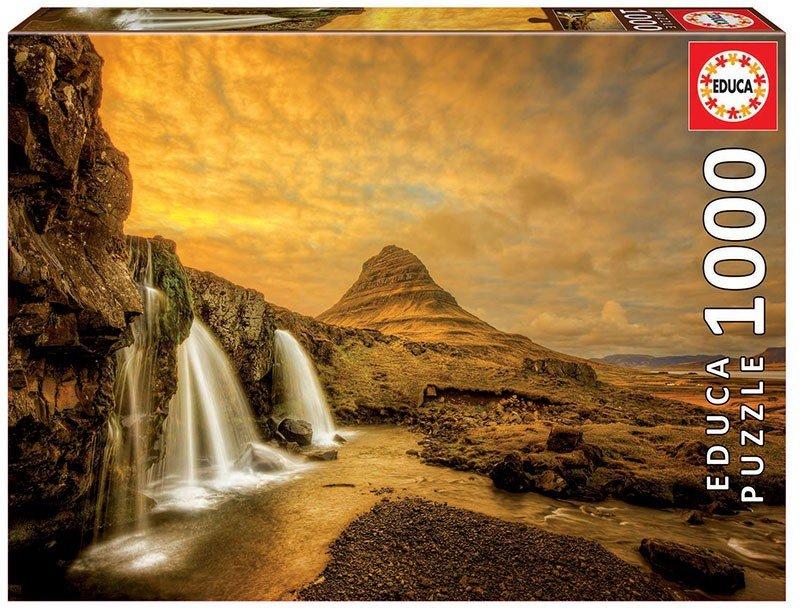 Puzzle 1000 Educa 17971 Wodospad Kirkjufellsfoss Islandia